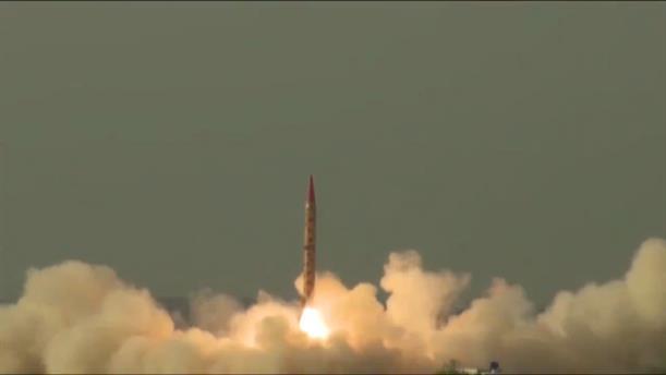 Εκτόξευση βαλλιστικού πυραύλου από το Πακιστάν