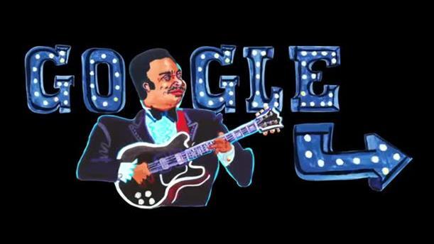 H Google τιμά τον BB King