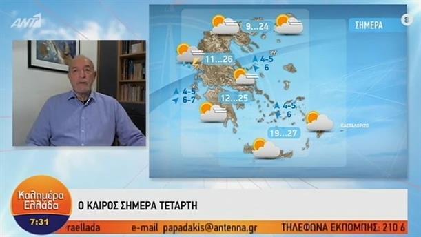 ΚΑΙΡΟΣ – ΚΑΛΗΜΕΡΑ ΕΛΛΑΔΑ - 06/11/2019