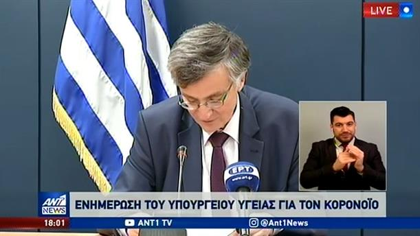 Κορονοϊός: 2245 κρούσματα στην Ελλάδα