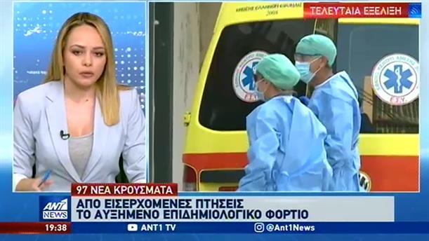 Κορονοϊός: 97 νέα κρούσματα στην Ελλάδα