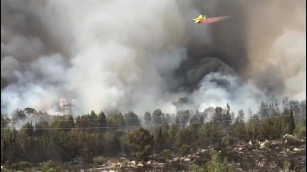 Φοβερή πυρκαγιά στο Ισραήλ