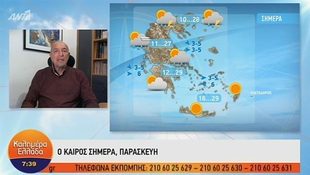 ΚΑΙΡΟΣ – ΚΑΛΗΜΕΡΑ ΕΛΛΑΔΑ - 31/05/2019
