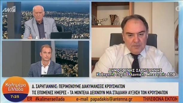 Ο Δημοσθένης Σαρηγιάννης στο «Καλημέρα Ελλάδα»
