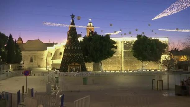 Timelapse από το ξημέρωμα στη Βηθλεέμ