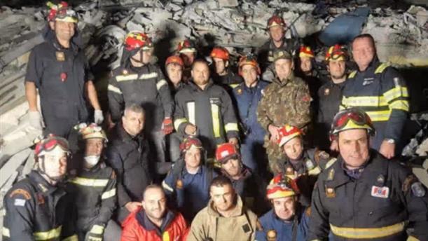 Βίντεο της ΕΜΑΚ από τις επιχειρήσεις διάσωσης στην Αλβανία
