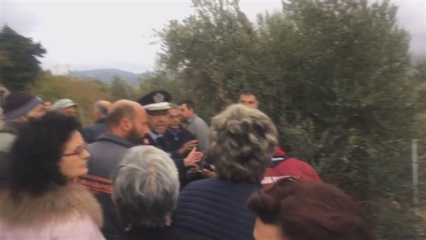 Διαμαρτυρίες στη ΒΙΑΛ από κατοίκους της Χίου