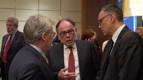 Βίντεο από την κοπή της πίτας της Πανελλήνιας Ένωσης Φαρμακοβιομηχανίας