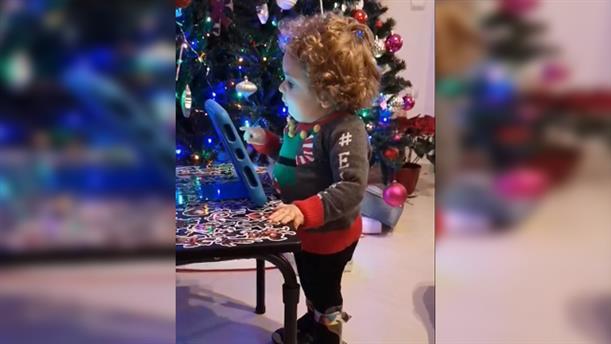 Παναγιώτης - Ραφαήλ: βίντεο με ευχές για τα Χριστούγεννα