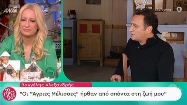 """Βαγγέλης Αλεξανδρής: Οι """"Άγριες Μέλισσες"""" ήρθαν από σπόντα στη ζωή μου"""