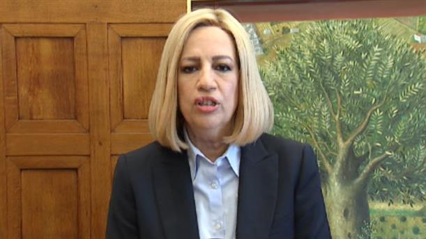 Δήλωση Φώφης Γεννηματά μετά την συνάντησή του με τον Πρωθυπουργό