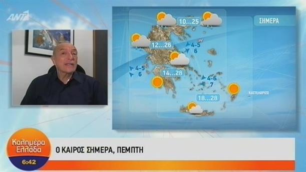 ΚΑΙΡΟΣ – ΚΑΛΗΜΕΡΑ ΕΛΛΑΔΑ - 04/10/2018