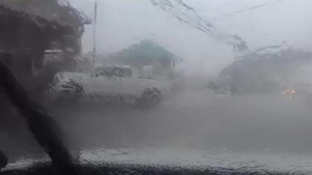 Εκκενώθηκαν σπίτια από τις πλημμύρες στη Χαβάη