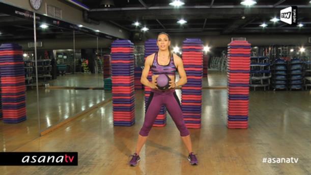 Workouts με medicine ball (επίπεδο αρχαρίων)