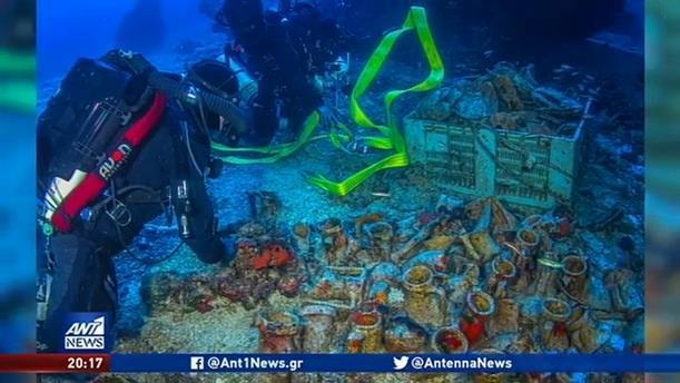 Νέα εντυπωσιακά ευρήματα από το ναυάγιο των Αντικυθήρων