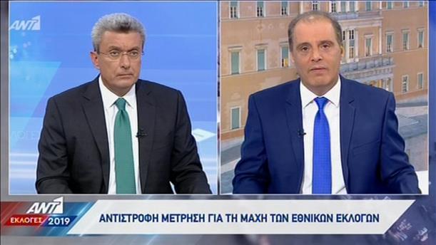 Ο Κυριάκος Βελόπουλος στον ΑΝΤ1