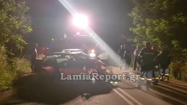 Αγριογούρουνο προκάλεσε σοβαρό τροχαίο στην Στυλίδα: