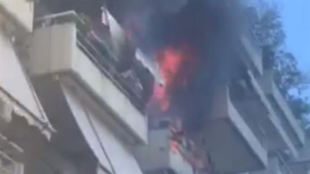 Πυρκαγιά σε διαμέρισμα στο Παγκράτι