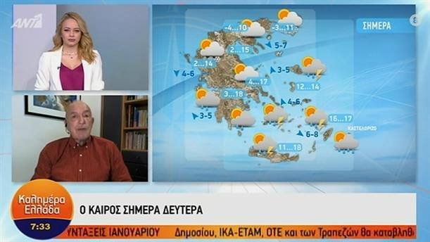 ΚΑΙΡΟΣ – ΚΑΛΗΜΕΡΑ ΕΛΛΑΔΑ - 30/11/2020