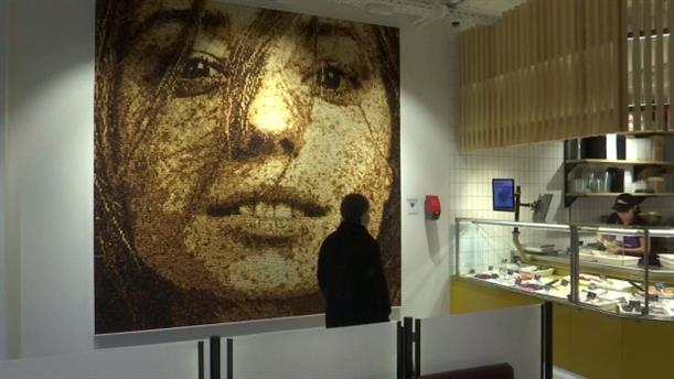 Πορτραίτο φτιαγμένο από ψωμί