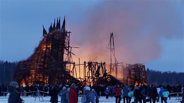 Στη Ρωσία...έκαψαν τον κορονοϊό