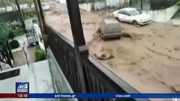 «Πνίγηκαν» περιοχές ανά την επικράτεια από τις έντονες βροχές
