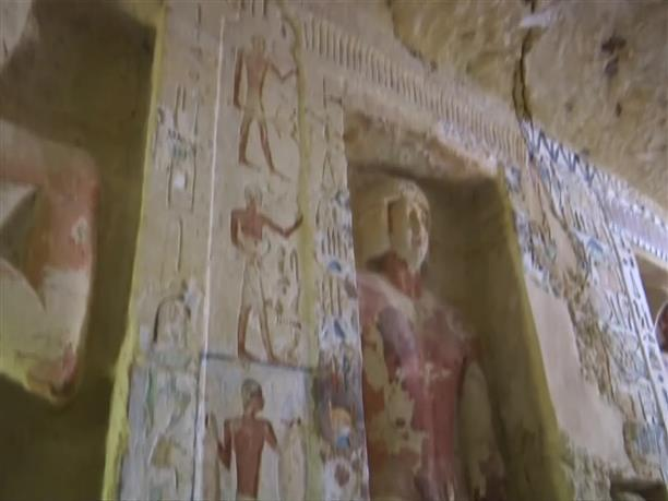 Σπουδαία αρχαιολογική ανακάλυψη στην Αίγυπτο
