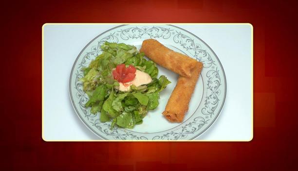 Φλογέρες ζαμπόν τυρί της Πένυ - Ορεκτικό - Επεισόδιο 23