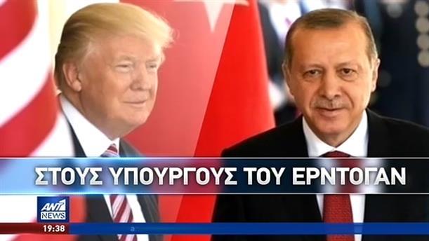 Ανυποχώρητος ο Ερντογάν παρά τις διεθνείς κυρώσεις στην Τουρκία