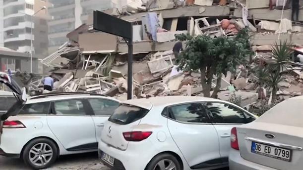 Ισχυρός σεισμός «ταρακούνησε» την Σμύρνη