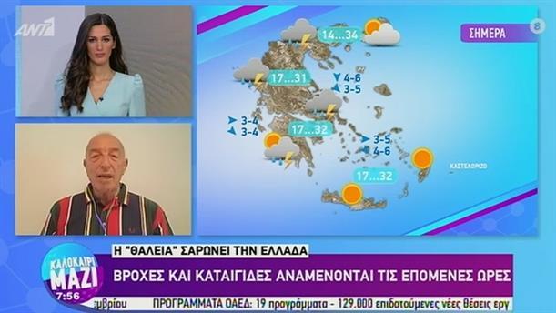 ΚΑΙΡΟΣ – ΚΑΛΟΚΑΙΡΙ ΜΑΖΙ - 07/08/2020