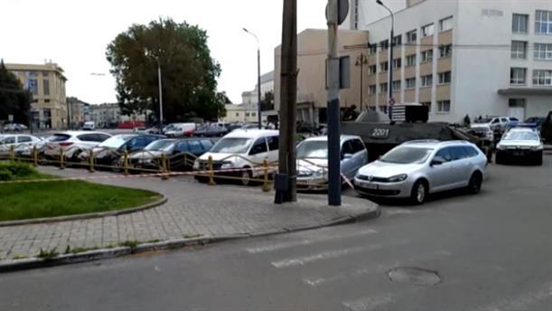 Ουκρανία: Ένοπλη ομηρία σε λεωφορείο