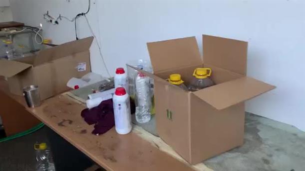 Εντοπισμός εργαστηρίου νοθείας ποτών στη Θεσσαλονίκη