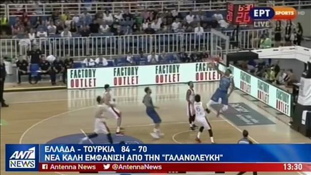 Με τον Αντετοκούνμπο μπροστά κέρδισε η Ελλάδα την Τουρκία