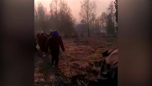 Καταστροφική φωτιά στη Σιβηρία