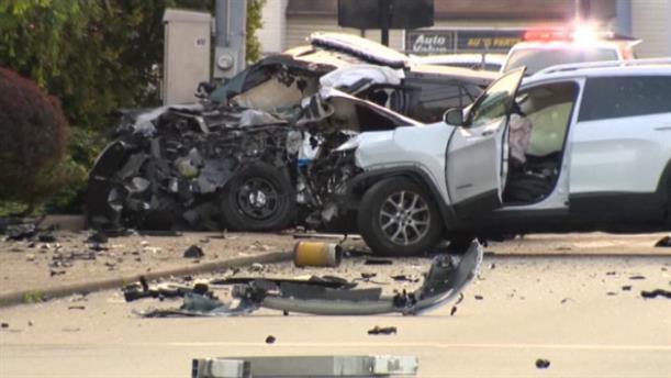 ΗΠΑ: Πολίτης διέσωσε αστυνομικό από φλεγόμενο αυτοκίνητο