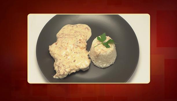 Χοιρινό ψαρονέφρι με λιαστή ντομάτα, προσούτο και ρύζι της Αγγελικής - Κυρίως πιάτο - Επεισόδιο 68