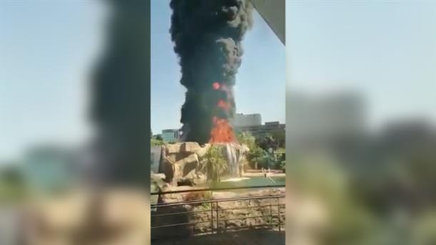 Φωτιά στο μεγαλύτερο ενυδρείο της Ευρώπης