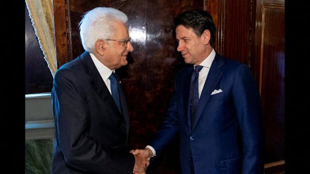 Συνάντηση Κόντε - Ματαρέλα για το σχηματισμό Κυβέρνησης