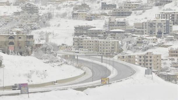 Χιόνια στο Λίβανο