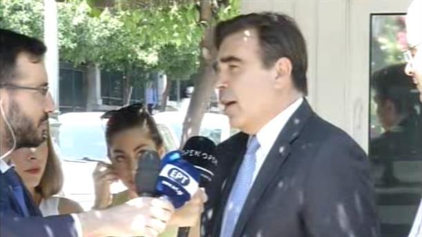 Δήλωση Μαργαρίτη Σχοινά μετά τη συνάντησή του με τον Πρωθυπουργό