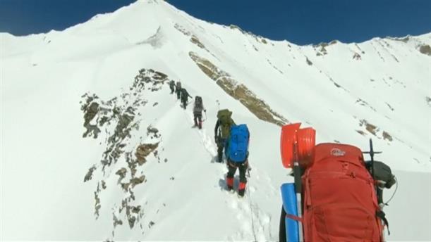 Χάθηκαν τα ίχνη από ορειβάτες στα Ιμαλάια