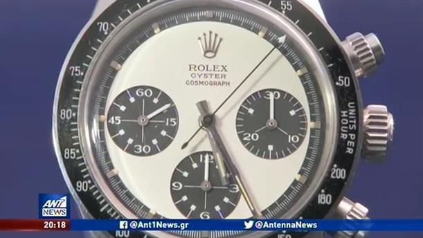 """""""Χρυσό""""…. έγινε ένα ρολόι που ήταν ξεχασμένο σε θυρίδα για δεκαετίες"""