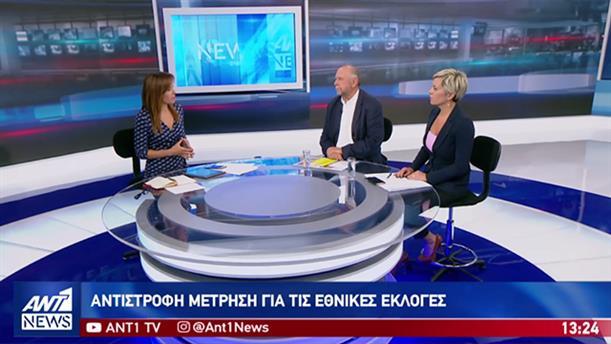 Σκουρολιάκος – Νικολάου στον ΑΝΤ1 για τις εκλογές