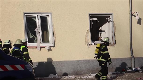 Ισχυρή έκρηξη στη Γερμανία