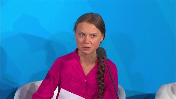Το μήνυμα της Γκρέτα Τούνμπεργκ στη Σύνοδο του ΟΗΕ για το Kλίμα