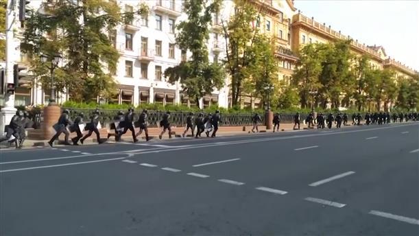 Συλλήψεις σε διαδήλωση στη Λευκορωσία