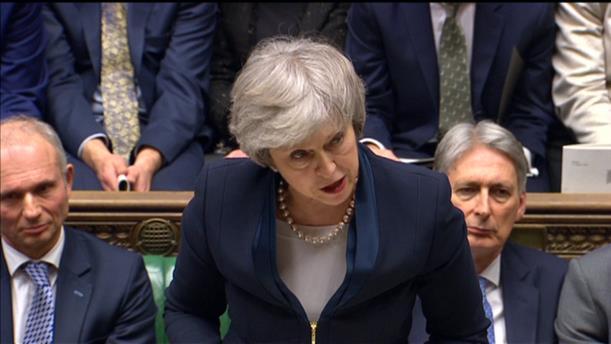 Η βρετανική Βουλή καταψήφισε τη συμφωνία για το Brexit