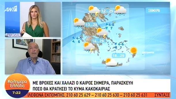 ΚΑΙΡΟΣ – ΚΑΛΗΜΕΡΑ ΕΛΛΑΔΑ - 20/09/2019