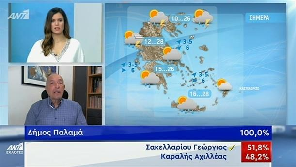ΚΑΙΡΟΣ – ΚΑΛΗΜΕΡΑ ΕΛΛΑΔΑ - 03/06/2019
